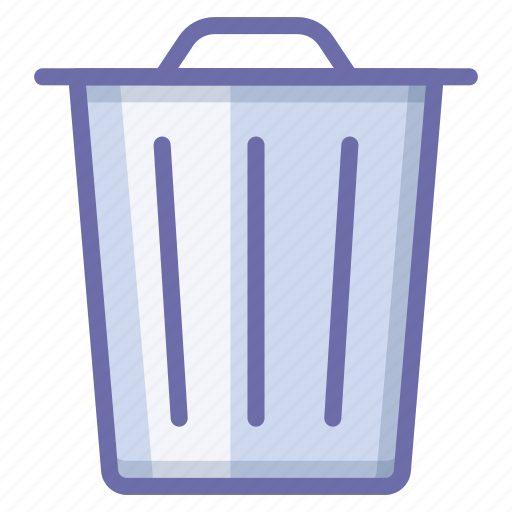 delete, recycle, trash icon