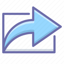 export, link, share icon