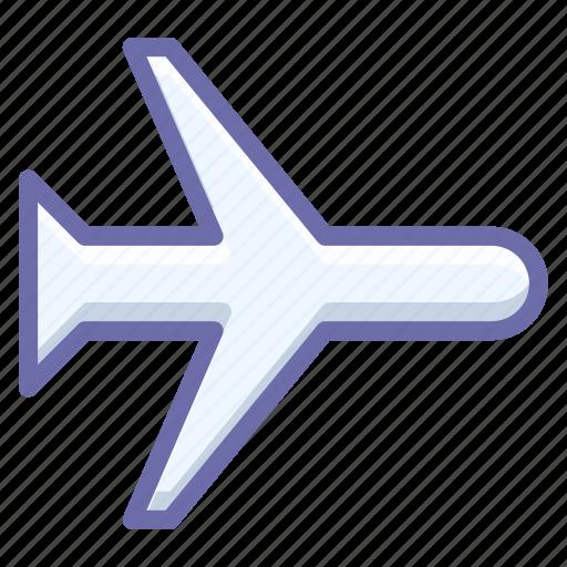 airplane, flight, mode icon