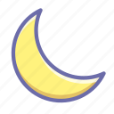 mode, night, sleep icon