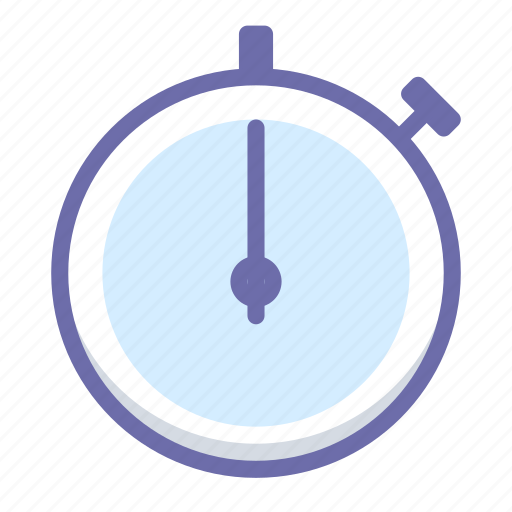 stopwatch, timer icon