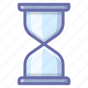 hourglass, loading, waiting icon