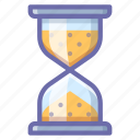 hourglass, loading, waiting