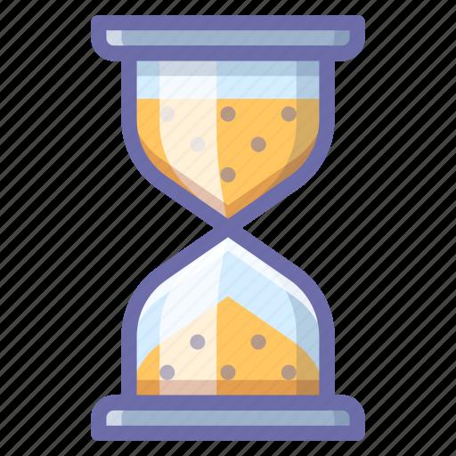 hourglass, loading, waiting icon
