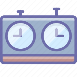 chess, clock, timer icon