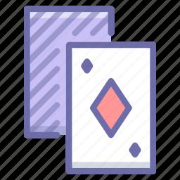 cards, gambling, games icon