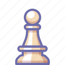 chess, figure, pawn icon