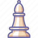 bishop, chess, figure icon