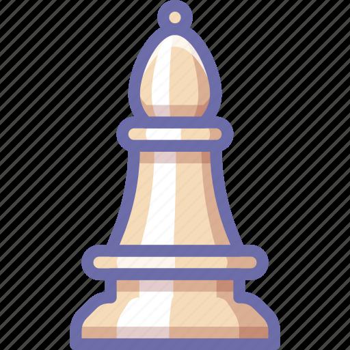 bishop, chess, figure icon