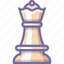 queen, chess, figure
