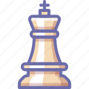king, chess, figure