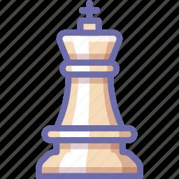 chess, figure, king icon