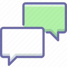 bubble, chat, message icon