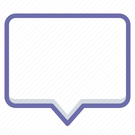 Bubble, message, talk icon - Download on Iconfinder