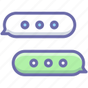 bubble, conversation, message icon