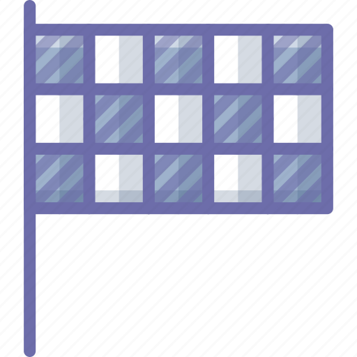 flag, mark, race icon