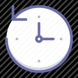 backup, clock, time machine icon