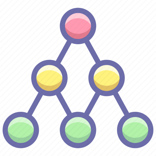 link, network, social icon