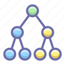 link, social, topology icon