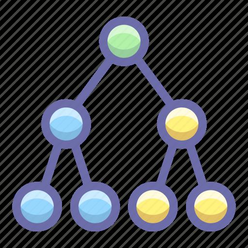 link, social, topology icon
