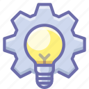 idea, process, production icon