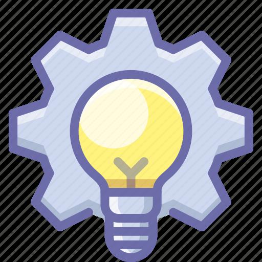 idea, process, production icon