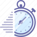 deadline, fast, stopwatch icon