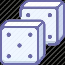 casino, dice, gambling icon
