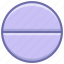 pill, tablet icon