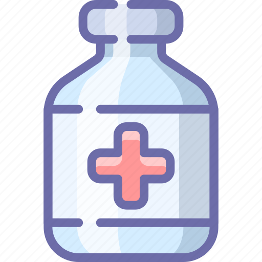 Antidote, tablets, medical icon