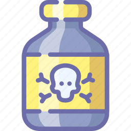 drug, medical, poison icon