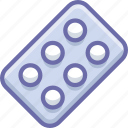 pastilles, remedy, tablets icon