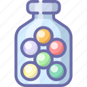 dragee, vitamin, vitamine icon