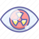 mutation, nuclear, radiation, sickness icon
