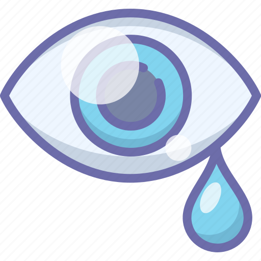 drops, eye, tears icon