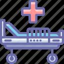 bed, hospital, medical