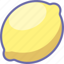 citrus, lemon icon