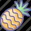 fruit, pineapple icon