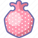 granate, pomegranate icon