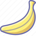 banana, food icon