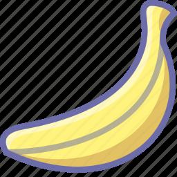 banana, food icon