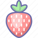 berry, strawberry icon