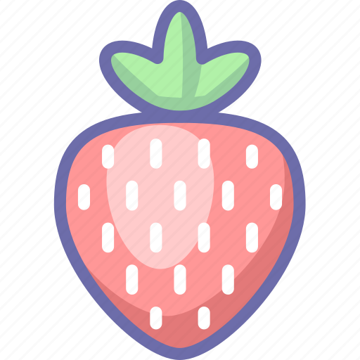 berry, strawberry icon