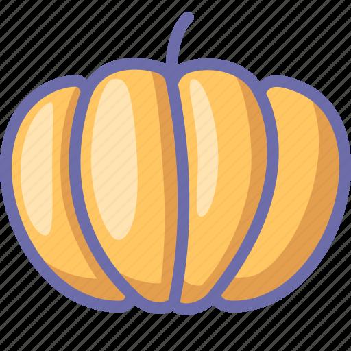 pumpkin, vegetable icon