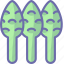 asparagus, sparrowgrass icon