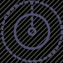 astronomy, earth, nadir, science icon