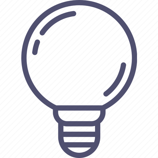 bright, high, lamp, led, light, power, spherical, voltage icon