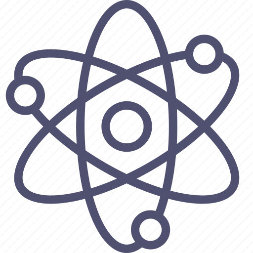 atom, corpuscle, energy, nuclear, physics, science icon