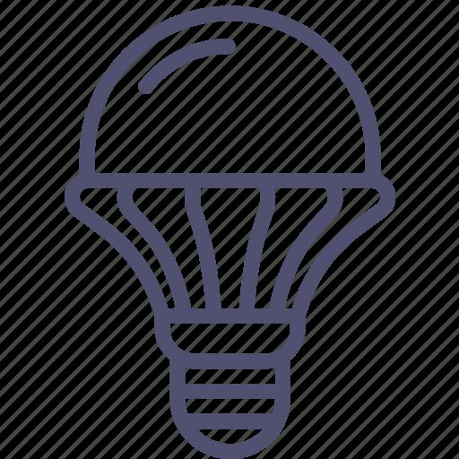 diode, emitting, lamp, led, light, luminodiode icon