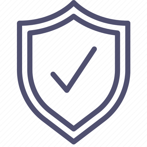 check, defense, firewall, guard, guardian, protect, protection, secure, security, shield icon